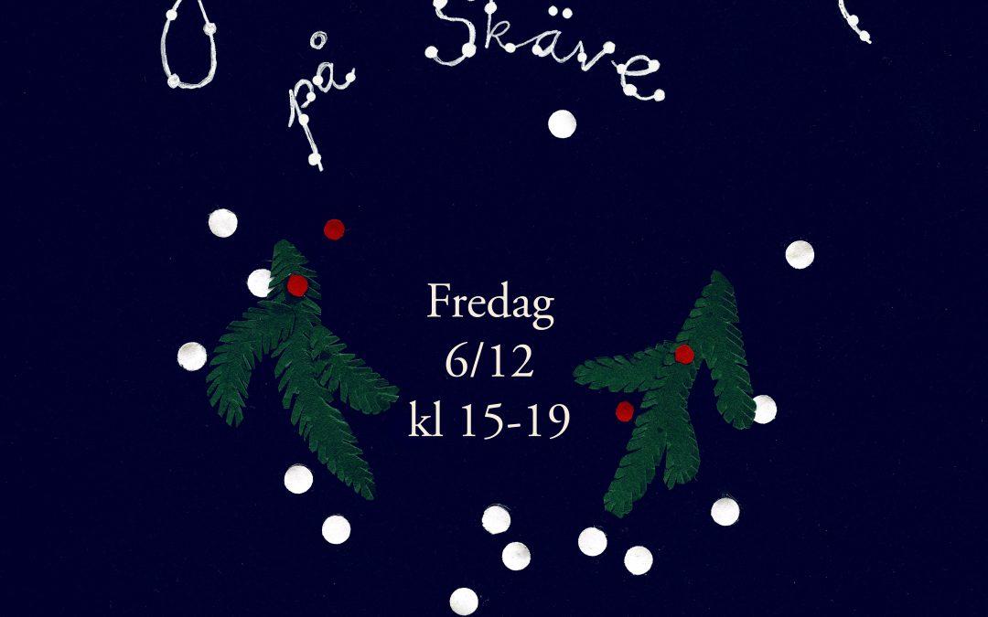 Välkommen till julmarknad på Skäve!